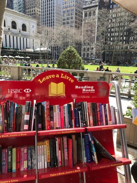 Bryant Park Little Free Library Greenbriar Lfl